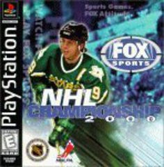 NHL Championship 2000 (Playstation 1) Pre-Owned: Game, Manual, and Case