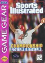Sports Illustrated Championship Football & Baseball (Sega Game Gear) Pre-Owned: Cartridge Only