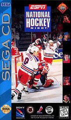 ESPN National Hockey Night (Sega CD) Pre-Owned: Game, Manual, Poster, and Case