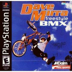 Dave Mirra Freestyle BMX (Playstation 1) Pre-Owned: Game, Manual, and Case