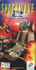 Shockwave 2: Beyond the Gate (3DO) Pre-Owned: Game, Manuals, Insert and Box