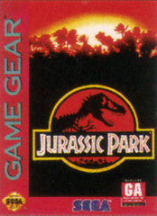 Jurassic Park (Sega Game Gear) Pre-Owned: Cartridge Only