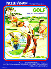 Golf (Intellivision) Pre-Owned: Cartridge Only