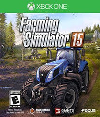 Farming Simulator 15 (Xbox One) Pre-Owned: Game, Manual, and Case