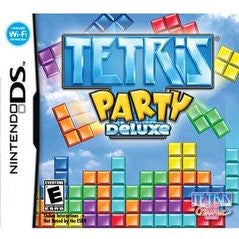 Tetris Party Deluxe (Nintendo DS) Pre-Owned: Game, Manual, and Case