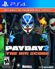 Payday 2 The Big Score (Playstation 4) NEW