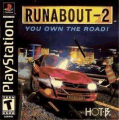 Runabout 2 (Playstation 1) Pre-Owned: Game, Manual, and Case