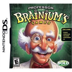 Professor Brainium's Games (Nintendo DS) Pre-Owned: Cartridge Only