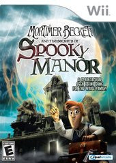 Mortimer Beckett and the Secrets of Spooky Manor (Nintendo Wii) Pre-Owned: Game, Manual, and Case