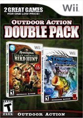 Remington Great American Bird Hunt and Shimano Xtreme Fishing Dual Pack (Nintendo Wii) Pre-Owned: Game, Manual, and Case