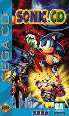 Sonic CD (Sega CD) Pre-Owned: Game, Manual, and Case