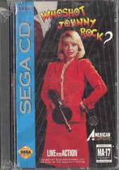 Who Shot Johnny Rock (Sega CD) Pre-Owned: Game, Manual, and Case