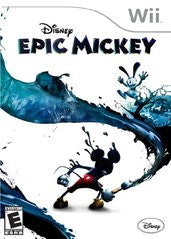 Epic Mickey (Nintendo Wii) Pre-Owned: Game, Manual, and Case
