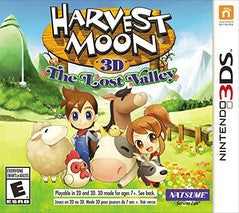 Harvest Moon: The Lost Valley (Nintendo 3DS) Pre-Owned: Game, Manual, and Case
