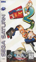 Earthworm Jim 2 (Sega Saturn) Pre-Owned: Game, Manual, and Case