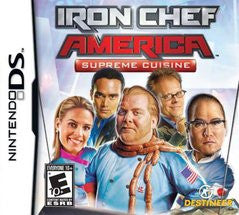 Iron Chef America Supreme Cuisine (Nintendo DS) Pre-Owned: Game, Manual, and Case