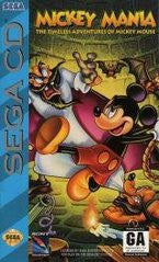 Mickey Mania The Timeless Adventures of Mickey Mouse (Sega CD) Pre-Owned: Game, Manual, and Case