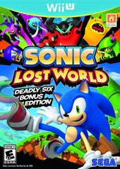 Sonic Lost World (Nintendo Wii U) Pre-Owned: Game, Manual, and Case