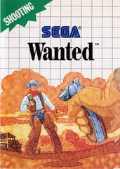 Wanted (Sega Master System) Pre-Owned: Game, Manual, and Case
