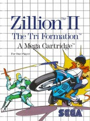 Zillion II: The Tri Formation (Sega Master System) Pre-Owned: Game and Case