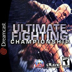 Ultimate Fighting Championship (Sega Dreamcast) Pre-Owned: Game, Manual, and Case