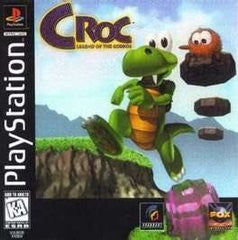Croc: Legend of the Gobbos (Playstation 1) Pre-Owned: Game, Manual, and Case