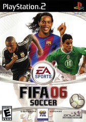 FIFA Soccer 2006 (Playstation 2) Pre-Owned: Game, Manual, and Case
