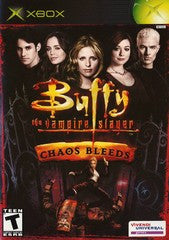 Buffy the Vampire Slayer Chaos Bleeds (Xbox) Pre-Owned: Game, Manual, and Case