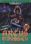 Arcus Odyssey (Sega Genesis) Pre-Owned: Game, Manual, and Case