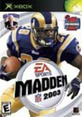 Madden NFL 2003 (Xbox) Pre-Owned: Game, Manual, and Case
