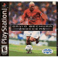 David Beckham Soccer (Playstation 1) Pre-Owned: Game, Manual, and Case