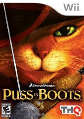 Puss In Boots (Nintendo Wii) Pre-Owned: Game, Manual, and Case