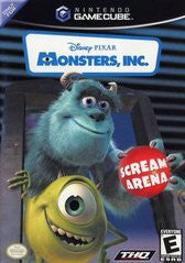 Monsters Inc. Scream Arena (Nintendo GameCube) Pre-Owned: Game, Manual, and Case