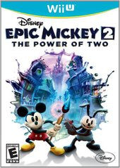 Epic Mickey 2: The Power of Two (Nintendo Wii U) Pre-Owned: Game, Manual, and Case