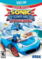 Sonic & All-Star Racing Transformed Bonus Edition (Nintendo Wii U) Pre-Owned: Game, Manual, and Case