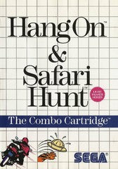 Hang-On and Safari Hunt (Sega Master System) Pre-Owned: Cartridge and Case