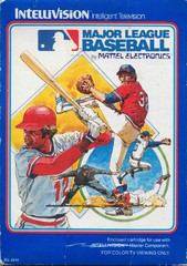 Major League Baseball (Intellivision) Pre-Owned: Cartridge Only