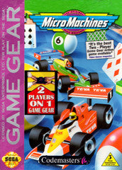 Micro Machines  (Sega Game Gear) Pre-Owned: Cartridge Only