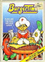 Burgertime (CBS) (ColecoVision) Pre-Owned: Cartridge Only