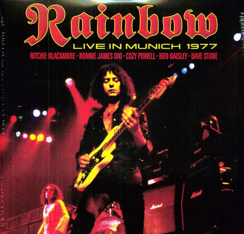 Rainbow ‎– Rainbow Live in Munich 1977 (2013 Reissue, Red Vinyl, 180g)