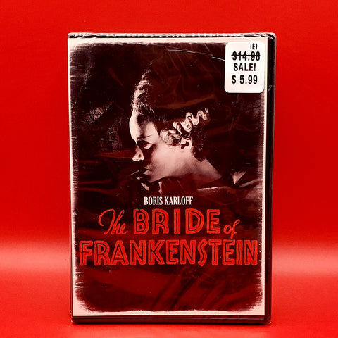 The Bride Of Frankenstein DVD - Boris Karloff