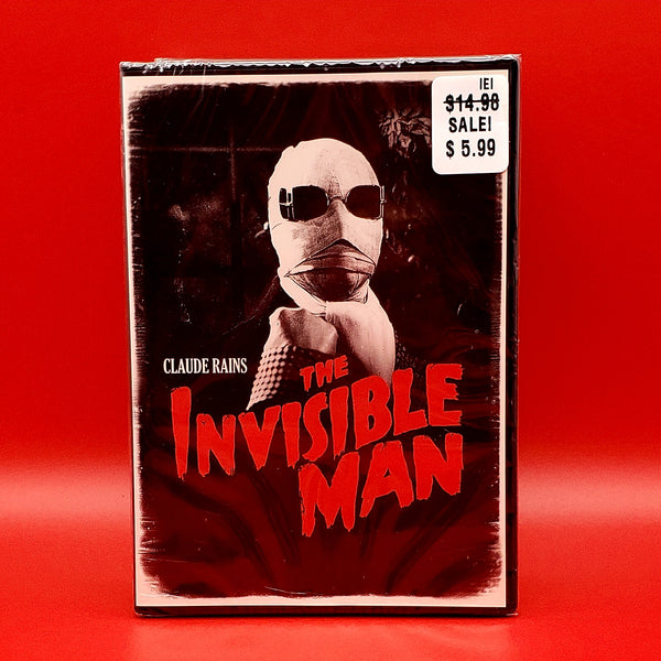 The Invisible Man DVD - Claude Rains