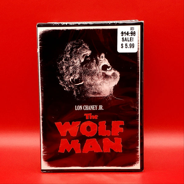 The Wolf Man DVD - Lon Chaney Jr.