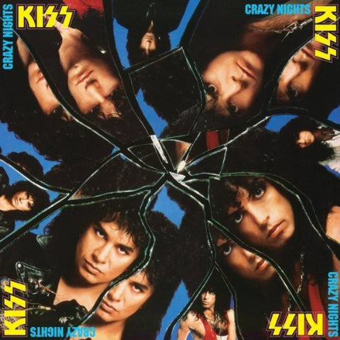 Kiss ‎– Crazy Nights (2014 Reissue, 180g Vinyl)