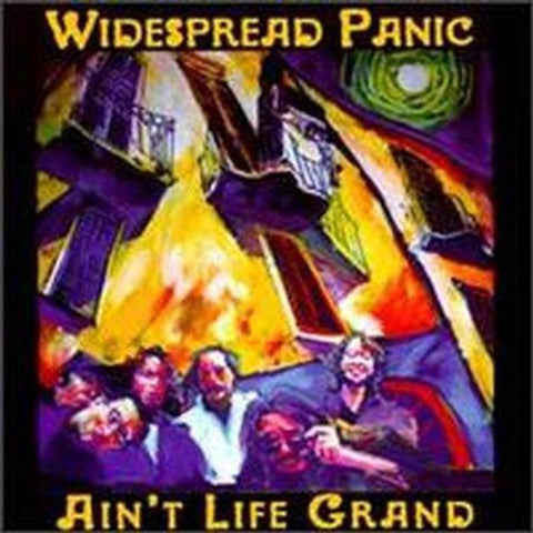 Widespread Panic ‎– Ain't Life Grand (Purple & Yellow Colored Vinyl)
