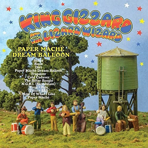 King Gizzard And The Lizard Wizard ‎– Paper Mâché Dream Balloon (Orange Vinyl)