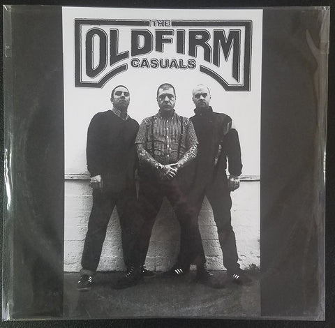 The Old Firm Casuals ‎– The Old Firm Casuals (Clear with screen printed B-side)