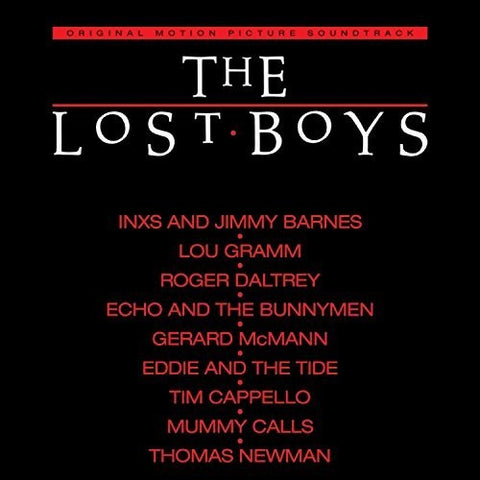Original Motion Picture Soundtrack :The Lost Boys (Red Vinyl, 180g, Limited edition)