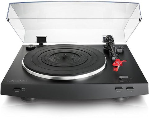 Audio Technica AT-LP3BK Fully Automatic Belt Drive Stereo Turntable