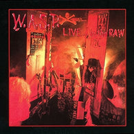 W.A.S.P. ‎– Live... In The Raw (2 Lp, Gatefold)